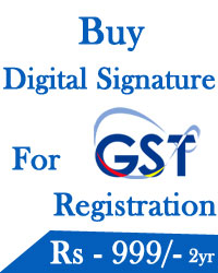 Digital Signature For GST